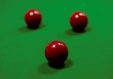 Snookeru stół Obrazy Stock