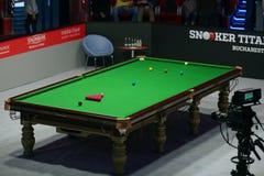 Snookeru stół Zdjęcie Stock