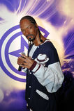 Snoop Dogg. Wax statue of Snoop Dogg, Hollywood celebrity and singer, image taken at the Madame Tussauds museum at Hollywood, Los Angeles, California Stock Photo