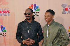 Snoop Dogg & Cordell Broadus Royalty Free Stock Photos