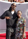 Snoop Dogg and Cori Broadus Royalty Free Stock Images