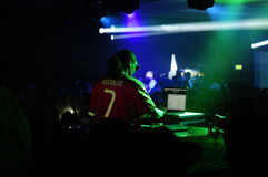 Snoop Dogg - DJ Performing at Nightclub Party Stock Photography