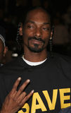 Snoop Dogg. HOLLYWOOD, CALIFORNIA. November 2, 2005. Snoop Dogg at the Paramount Pictures' Get Rich or Die Tryin' Los Angeles Premiere at the Grauman's Chinese Royalty Free Stock Image