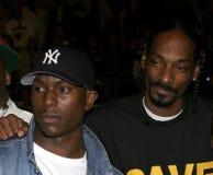 Snoop Dogg och Tyrese Gibson Royaltyfria Bilder