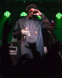 Snoop Dogg (Snoop Lion) Performs in Bend, Oregon 12-18-2012 stock photos