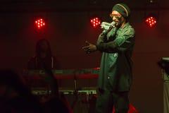 Snoop Dogg (Snoop Lion) Performs in Bend, Oregon  12-18-2012 Stock Photo