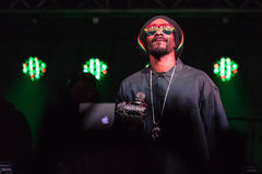 Snoop Dogg (Snoop Lion) Performs in Bend, Oregon  12-18-2012 Stock Photography