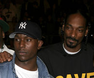 Snoop Dogg and Tyrese Gibson Royalty Free Stock Images