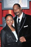 Snoop Dogg. & wife Shante Taylor at the 13th Annual Critics' Choice Awards at the Santa Monica Civic Auditorium. January 7, 2008  Los Angeles, CA Picture: Paul Royalty Free Stock Images