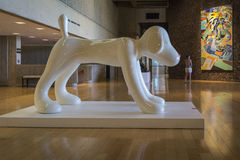 Snoopy статуя Стоковая Фотография