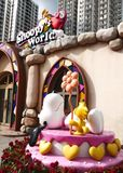 Snoopy house. In Snoopy Theme Park in Hong Kong China Stock Photos