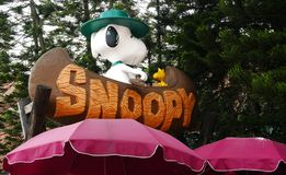Snoopy Roof. Snoopy house in Snoopy Theme Park in Hong Kong China Stock Images