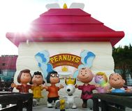 Snoopy house. In Snoopy Theme Park in Hong Kong China Stock Photo