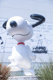 Snoopy museum in Tokyo Japan on March 30, 2017   Lovely cartoon model happy dog Stock Photo