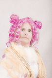 Snooty υπερφυσικός θηλυκός χαρακτήρας Στοκ Φωτογραφίες