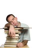 snoozing студент Стоковая Фотография RF
