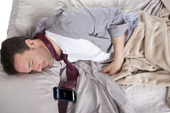 Snoozing Alarm Stock Photography