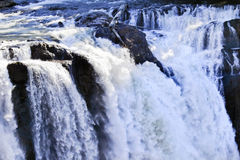 Snoqualme Falls Waterfall Washington Royalty Free Stock Image