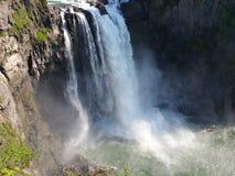 Snoqualmie baja cascada Imagen de archivo
