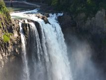 Snoqualmie fällt Wasserfall Stockbilder