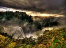 Snoqualmie Falls stock photo