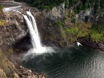 Snoqualmie Falls Royalty Free Stock Photo