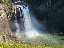Snoqualmie falls waterfall Stock Image