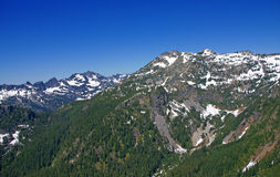 Snoqualmie Peak Royalty Free Stock Images