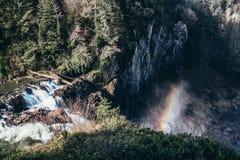 Snoqualmine Falls - Seattle stock photography