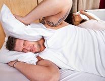Snoring Στοκ εικόνα με δικαίωμα ελεύθερης χρήσης