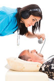 Snoring Examination Royalty Free Stock Photos