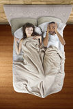 Snoring Partner Stock Photos