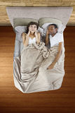 Snoring Partner Stock Photography