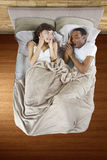 Snoring Partner Royalty Free Stock Image
