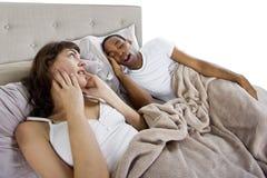 Snoring Stock Image