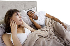 Snoring Royalty Free Stock Photography