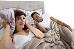 Snoring Stock Photography