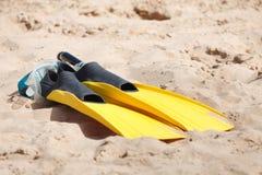 snorkel маски ребер Стоковая Фотография RF