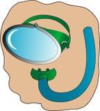snorkel маски Стоковая Фотография
