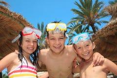 snorkel маск малышей Стоковая Фотография RF