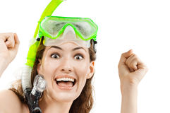 Snorkel Royalty Free Stock Photography