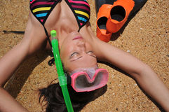 Snorkel Fotos de Stock Royalty Free