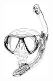 Snorkel Zdjęcie Stock