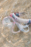 snorkel стоковое изображение rf