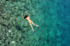 snorkel Royaltyfri Fotografi