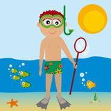 Snorkel Royalty Free Stock Photo