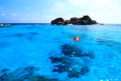 Snorkel at beautiful islands Stock Photography