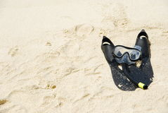 Snorkel equipment Stock Images