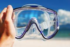 Snorkel equipment Stock Image