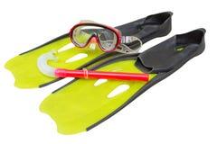Snorkel equipment Royalty Free Stock Image